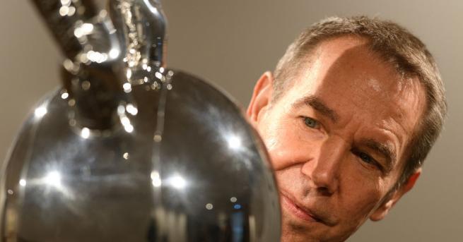 """Скулптурата Заек"""" на американския художник Джеф Кунц беше продадена на"""