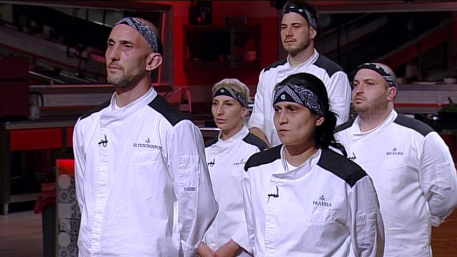 Кой си тръгна от Hell's Kitchen две седмици преди финала