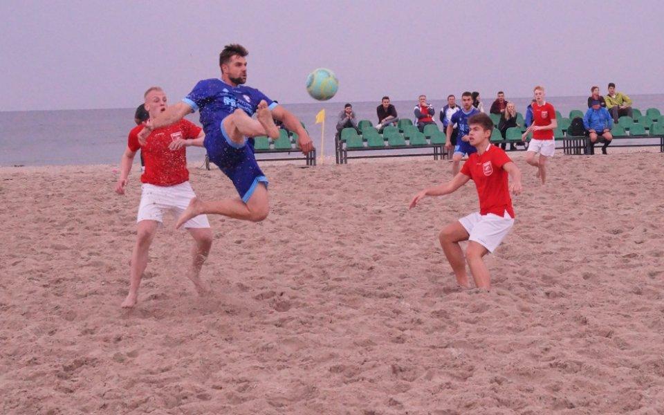 Обявиха отборите за държавното по плажен футбол