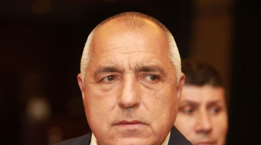 "Борисов провери участък на магистрала ""Струма"""