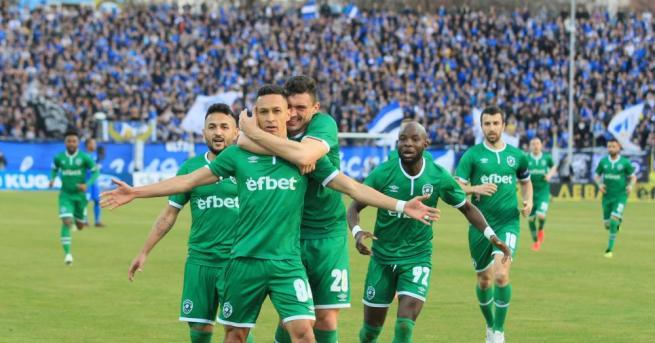 Голямото дерби на 34-ия кръг на Първа лига противопостави отборите