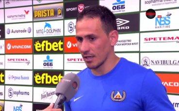 Миланов: Накрая мислех, че може да победим, не гледаме какво прави ЦСКА