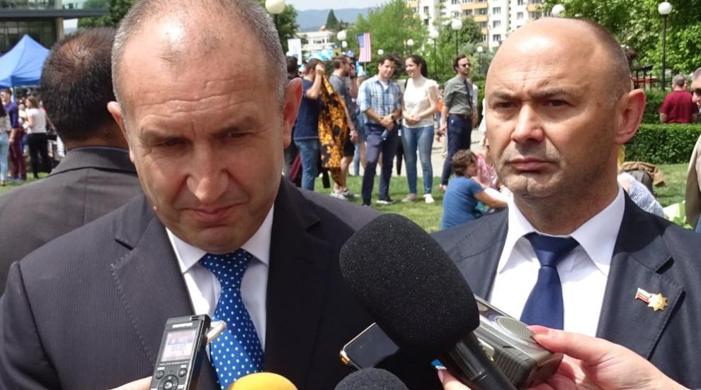 Президентът Радев: Не каня магистрати вкъщи или на тайни вечери