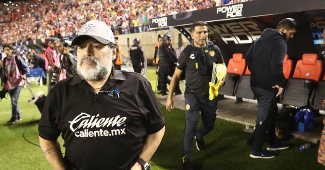 Футболната легенда Диего Марадона няма да присъства на филмовия фестивал