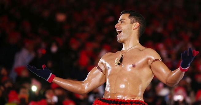 Голият атлет от Тонга ще опита да се появи на