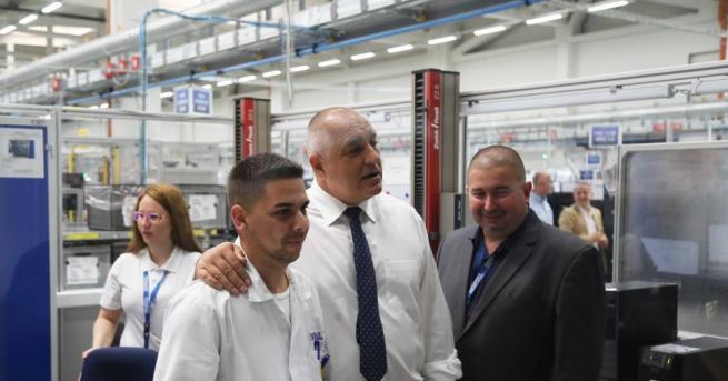 Премиерът Бойко Борисов направи инспекция на инфраструктурни проекти в Пазарджик