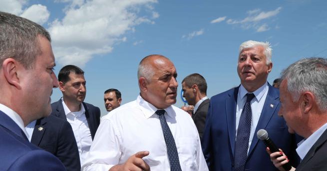 Министър-председателят Бойко Борисов инспектира пътя Пловдив-Асеновград и заяви, че е