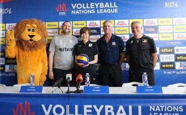 Треньорите на САЩ, Белгия и Япония очаровани от България и Русе