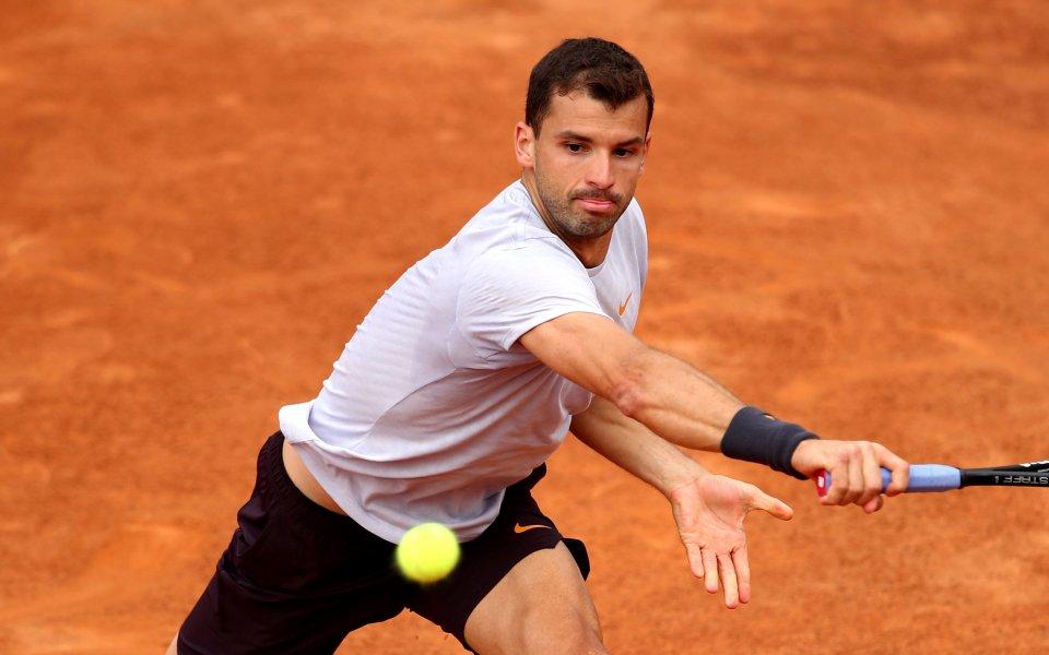 Най-добрият ни тенисист Григор Димитров и84-ият в света аржентинец Федерико
