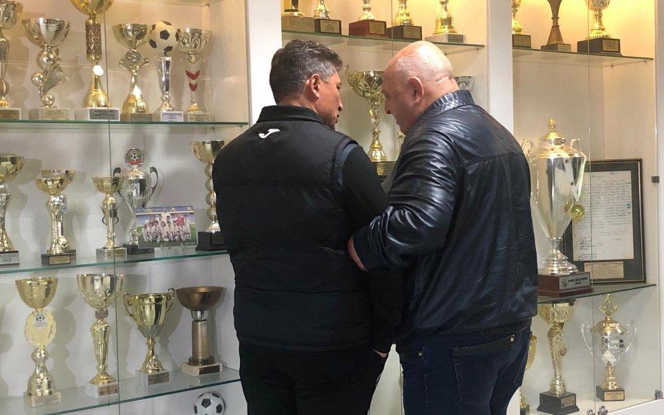 Президентът на Славия Венцеслав Стефанов отново беше много критично настроен