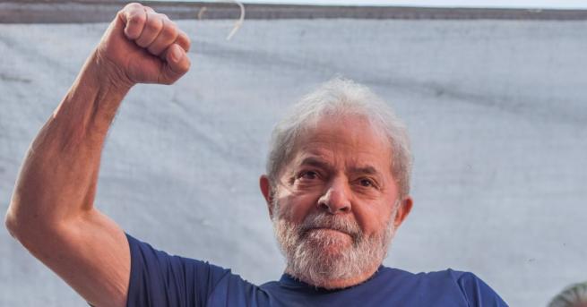 Бившият президент на Бразилия Луиз Инасио Лула да Силва, който