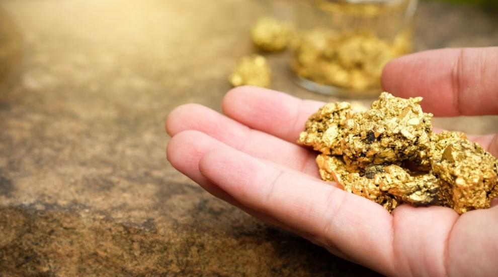 Мъж намери самороден къс злато с тегло 1,4 кг (ВИДЕО)