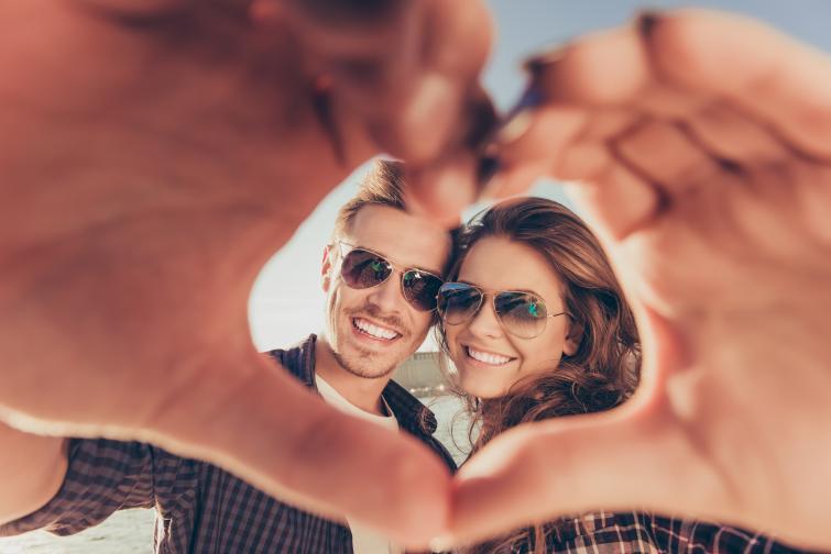 щастие любов двойка брак връзка