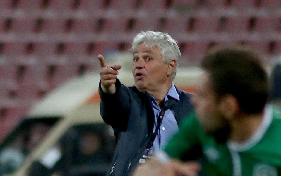Старши треньорът на Лудогорец Стойчо Стоев прие много спокойно фактът,
