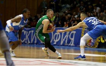 Левски Лукойл спечели първия мач от финалната серия с Балкан