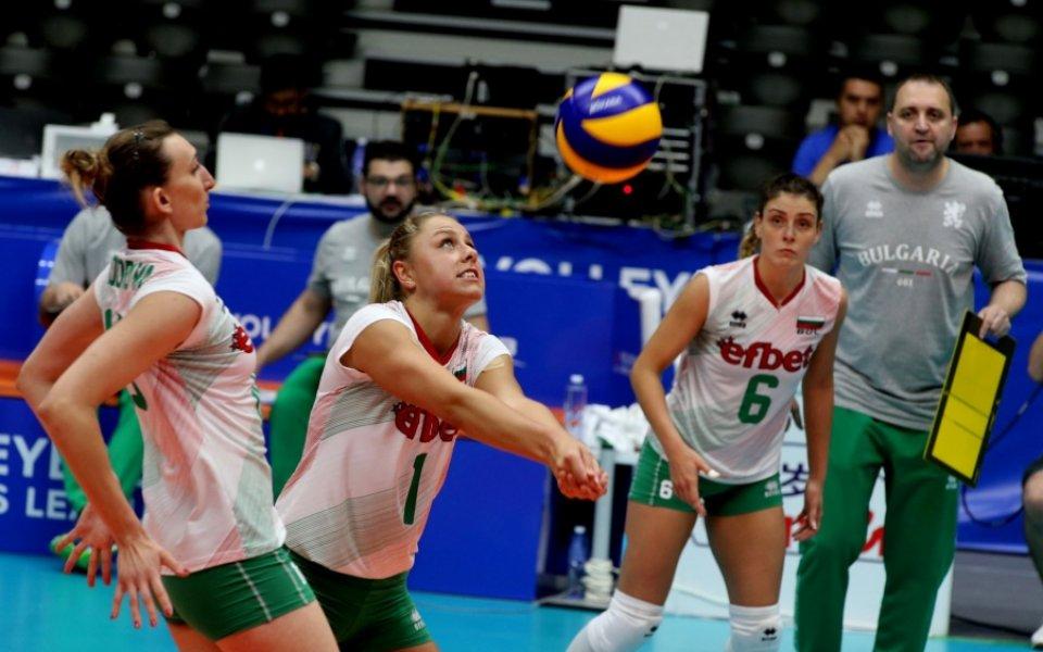 България тръгна със загуба във волейболната Лига на нациите