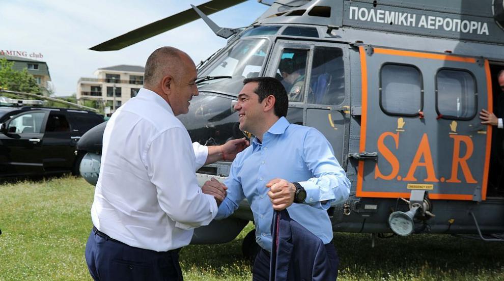 Какво важно си казаха Борисов и Ципрас? (СНИМКИ/ВИДЕО)