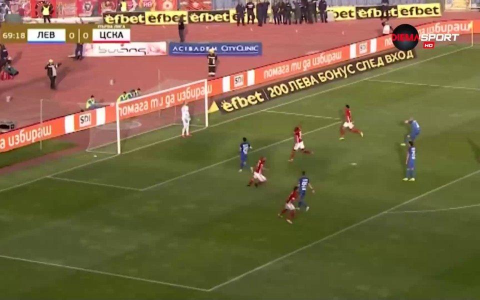 Халфът на ЦСКА Тиаго Родригес е безспорният номер 1 сред