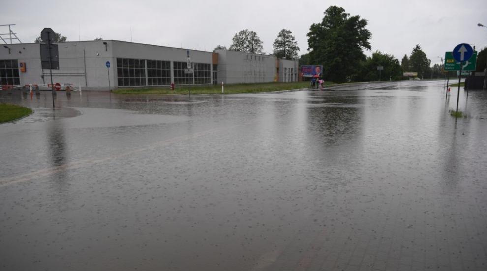 Силен дъжд предизвика наводнение в Бодрум (ВИДЕО/СНИМКИ)