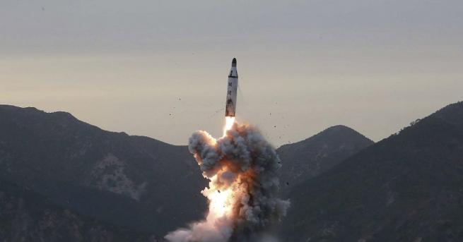 Снимка: Индия изпробва бърза крилата ракета