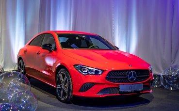 Mercedes-Benz CLA Coupe е вече в България