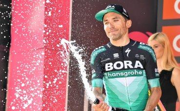 Изненадващ победител в първия планински етап от Джирото