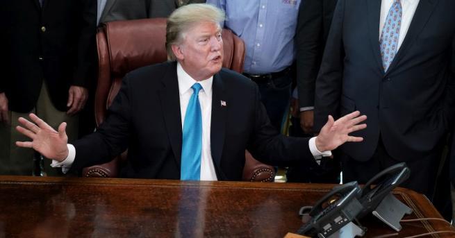 Президентът на САЩ Доналд Тръмп отправи нови нападки срещу председателката