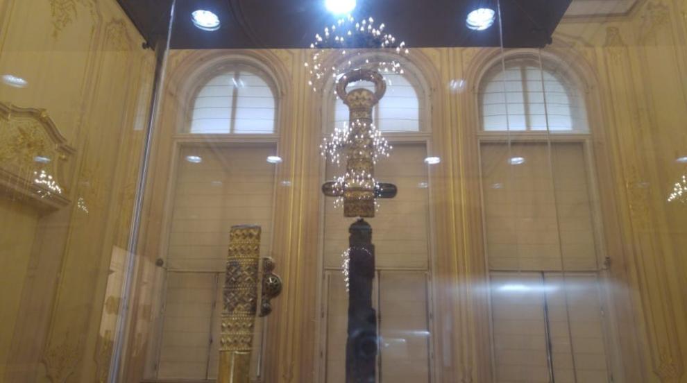 Мечът и пръстенът на хан Кубрат пристигнаха у нас (ВИДЕО/СНИМКИ)