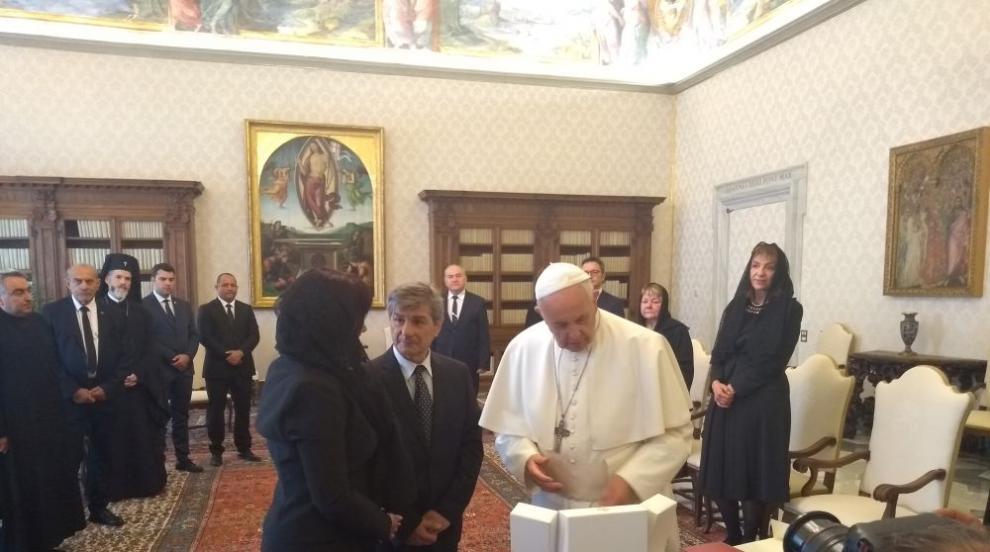 Папа Франциск с послание към България за 24 май (СНИМКИ)