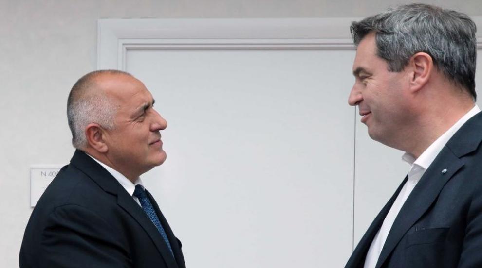 Борисов в Мюнхен: Отношенията между България и Германия са отлични
