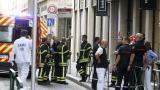 Експлозия в Лион, ранени пешеходци