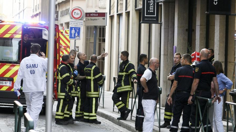 <p>Експлозия в Лион, дете сред ранените&nbsp;</p>