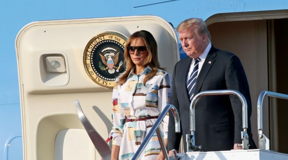 Доналд и Мелания Тръмп на посещение в Япония (СНИМКИ)