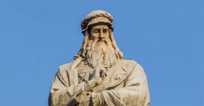 Снимка: Откриха мистериозни тайни рисунки на Леонардо да Винчи