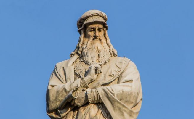 Откриха мистериозни тайни рисунки на Леонардо да Винчи