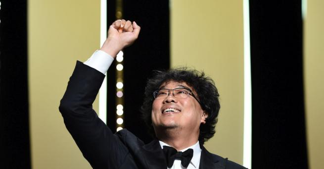 Южнокорейският режисьор Бон Джун-хо спечели Златната палма на 72-ия кинофестивал
