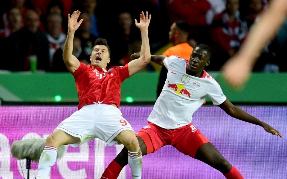 Байерн Мюнхен спечели Купата на Германия след крупен успех с