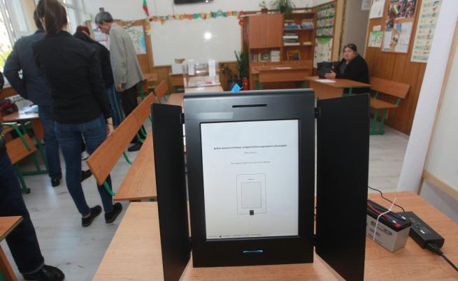 10 машини за гласуване не проработиха днес