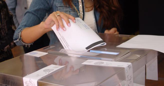 Централната избирателна комисия е обработила вече около 51 процента от