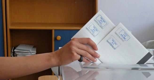 При 100% обработени протоколи в РИК - избирателната активност на