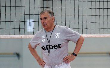 Пранди извика 15 волейболисти за лагера в Самоков
