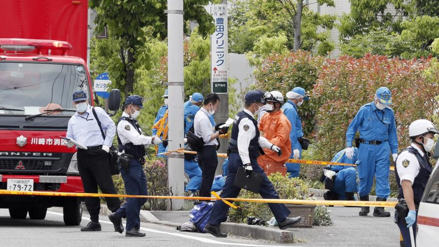 <p>Трима убити и 19 ранени след атака с нож в Япония</p>