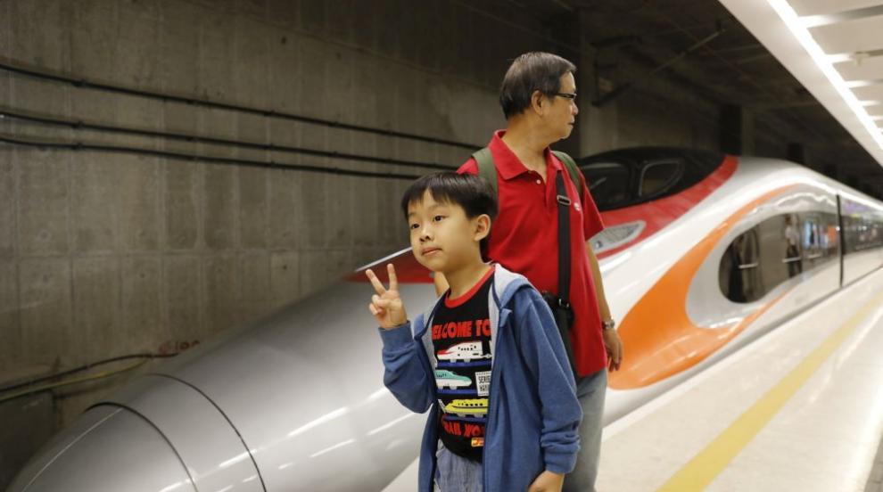 """Влак с магнитна левитация """"ще лети"""" с 600 км/ч в Китай (ВИДЕО/СНИМКИ)"""
