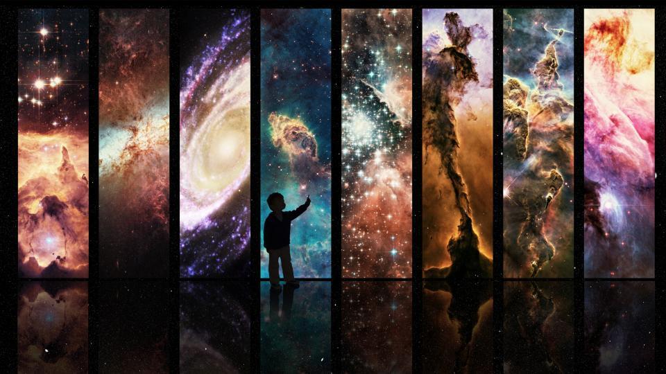 мистично магия планети звезди луна астро