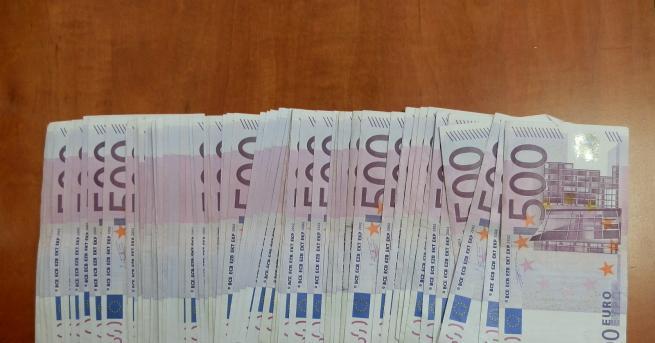Недекларирани 50 000 евро задържаха митничарите на Капитан Андреево. Валутата