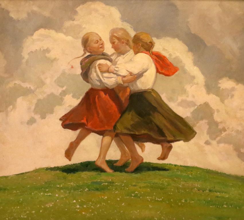 Три словачета танцуват