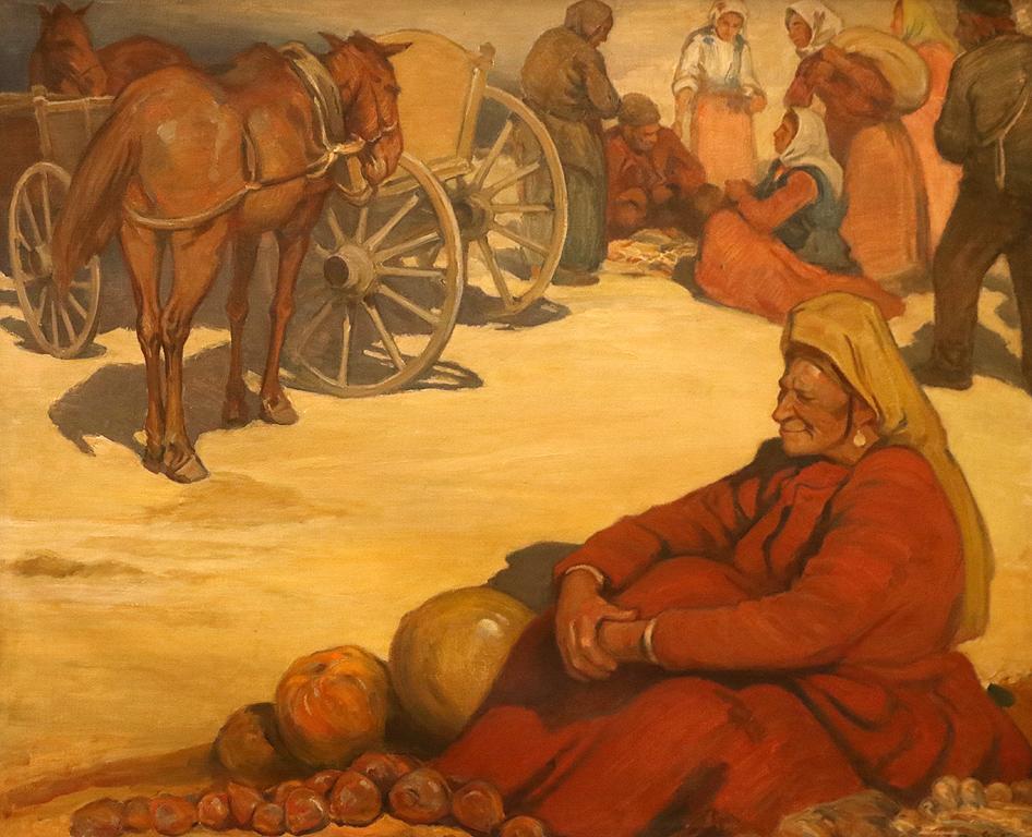 Пазарен ден Баба Гурлачка 1942