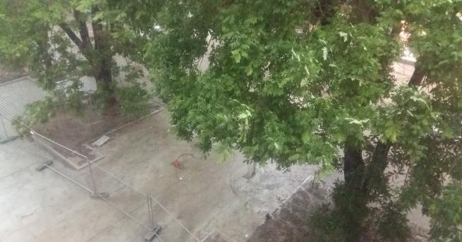 Пороен дъжд се изсипа над Стара Загора. В късните следобедни