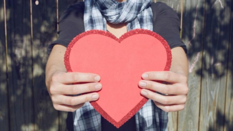 любов сърце мъж жена