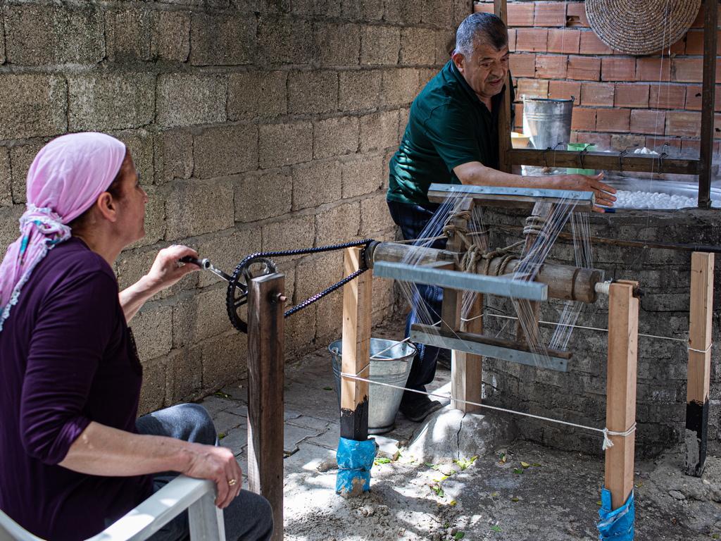 По данни на Министерството на земеделието и горите с развъждането на буби се занимават 358 села и близо 200 семейства.